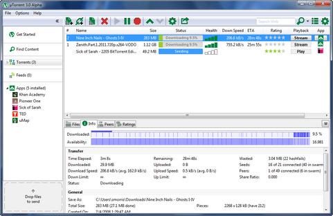 gratis software downloaden voor Bittorrent