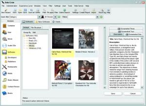 De interface van Data Crow om eenvoudig al je downloads te beheren