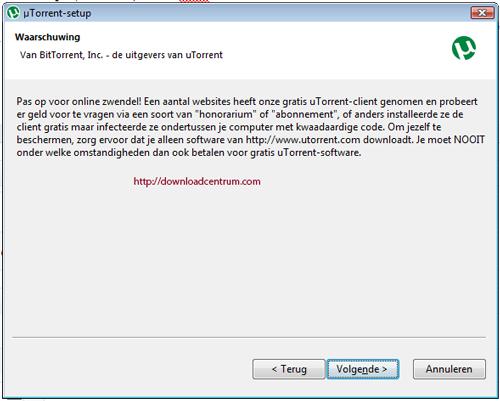 utorrent-zwendel-fraude-waarschuwing