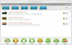 de interface van Freemake Video Converter