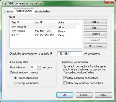 Met de Tight VNC software kun je je computer op afstand besturen