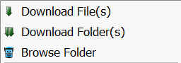 kies een folder