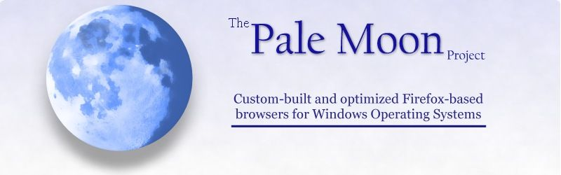 Pale Moon - Browser Software