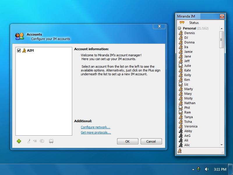 Miranda IM - Messenger Software