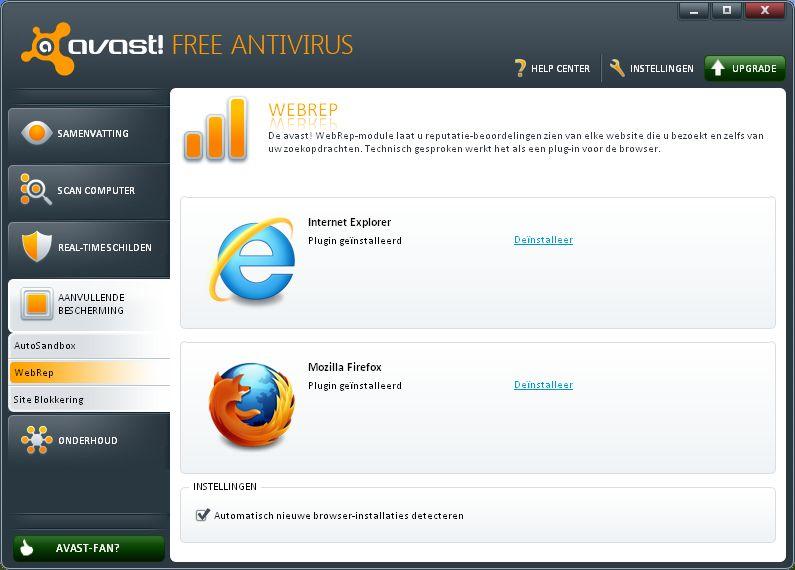 Gratis Avast! anti Virus Software