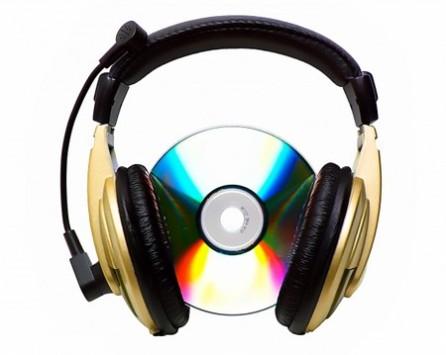 Muziek downloaden van internet.