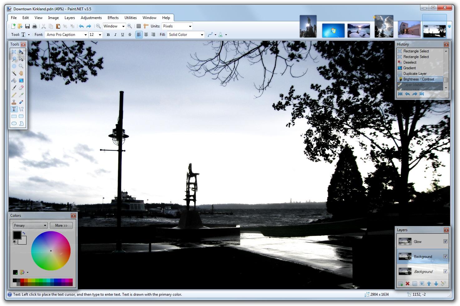 Paint Net Foto S Bewerken Fotobewerking