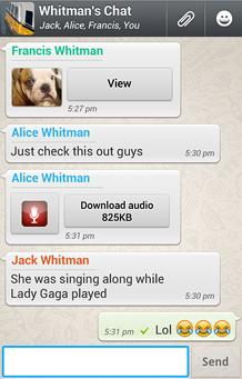 wassup chatting