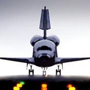 Moeilijk iPad spel: Space Shuttle Sim