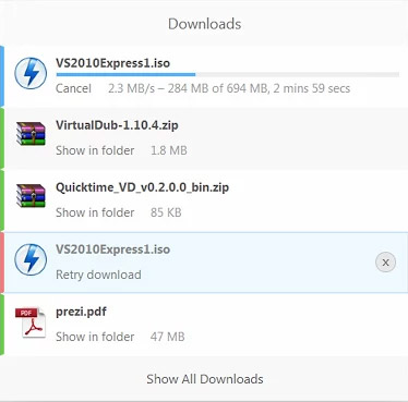 Sneller downloaden in je browser met de Downloads extensie voor Chrome.