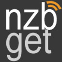 Het logo van NZBGet