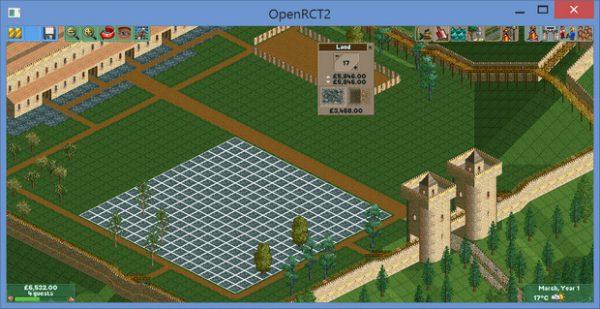 OpenRCT2 biedt meer mogelijkeden.