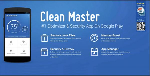 Clean Master Phone Booster is de beste app voor een snelle en veilige smartphone, nu downloaden?