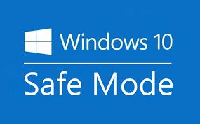 Windows 10 opstarten in de veilige modus.