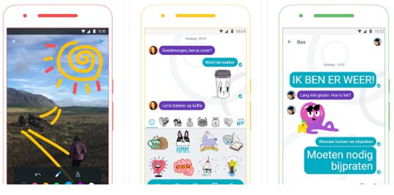 Allo kent veel Emoji's en andere manieren om jezelf goed uit te drukken.