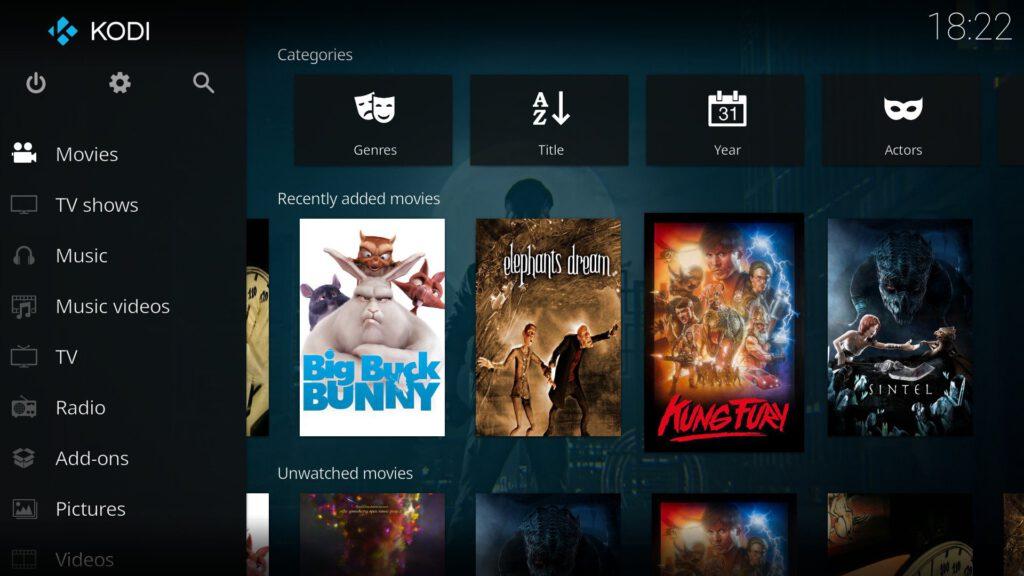 LibreElec is een mediaspeler die series, films en muziek kan afspelen en streamen via een netwerk.