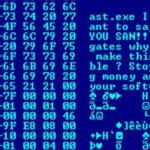 Een computervirus bestaat uit uitvoerbare programmacode.