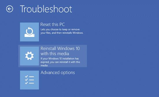 Vanuit het Windows 10 herstelmenu kun je opstartproblemen in Windows 10 eenvoudig oplossen.