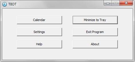 De interface van TitleBar Date-Time is duidelijk en gemakkelijk te begrijpen.