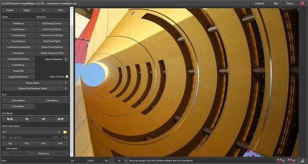 Je kunt met ImageMaker eenvoudig foto's bewerken en ze van een eigen stijl voorzien.