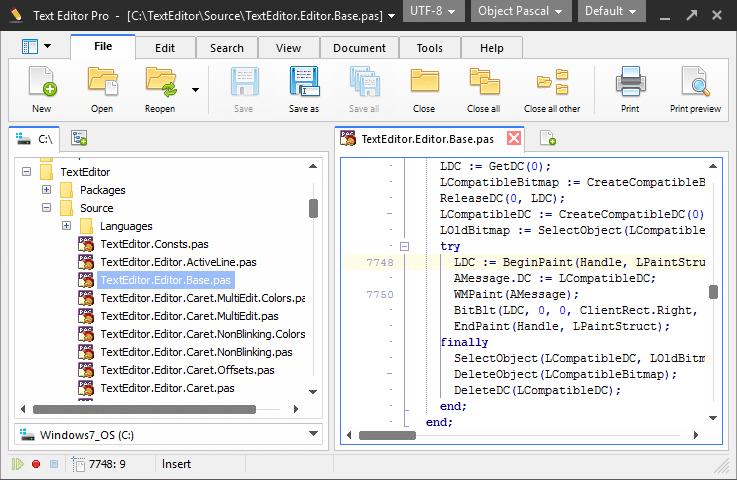 Text Editor Pro is beschikbaar als gratis download voor Windows 10.