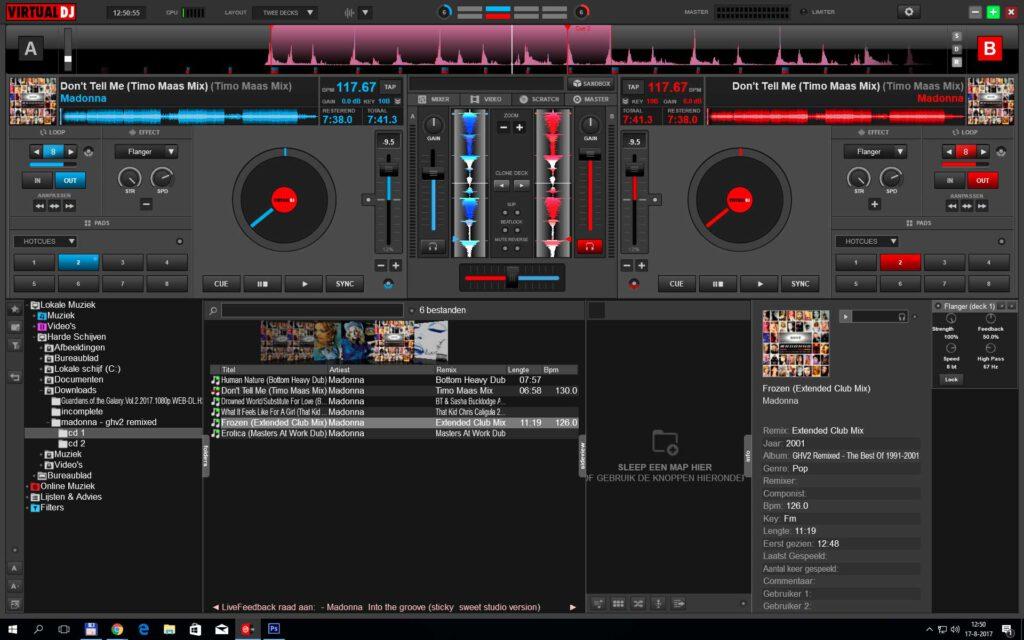 MP3 bestanden scratchen? Met VirtualDJ kan dat heel makkelijk.