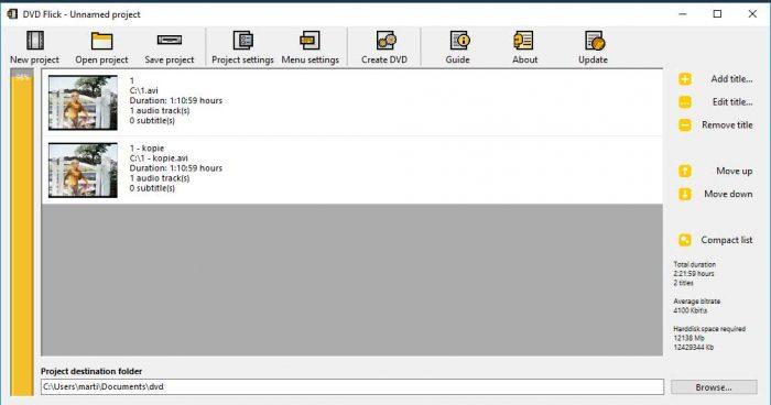 Voeg nu videobestanden (MKV, MP4) toe aan de te branden DVD.