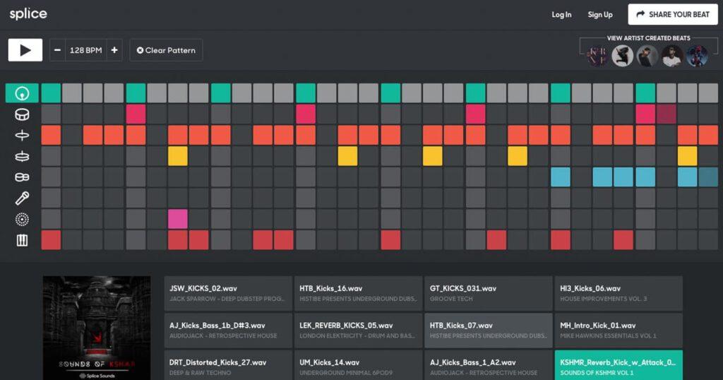 Online je eigen beats maken met Beat Maker van Splice