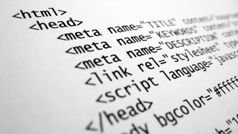 Een voorbeeld van een HTML bestand.