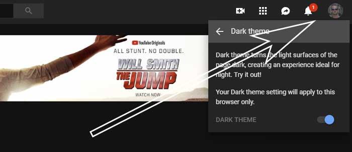 Youtube is een stuk vriendelijker voor je ogen in zwart.