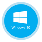 Systeemherstel in Windows 10.