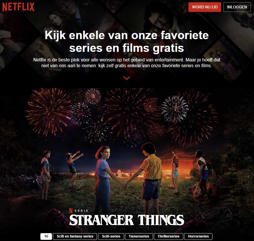 Gratis Netflix kijken via Watch Free (handleiding 2020).